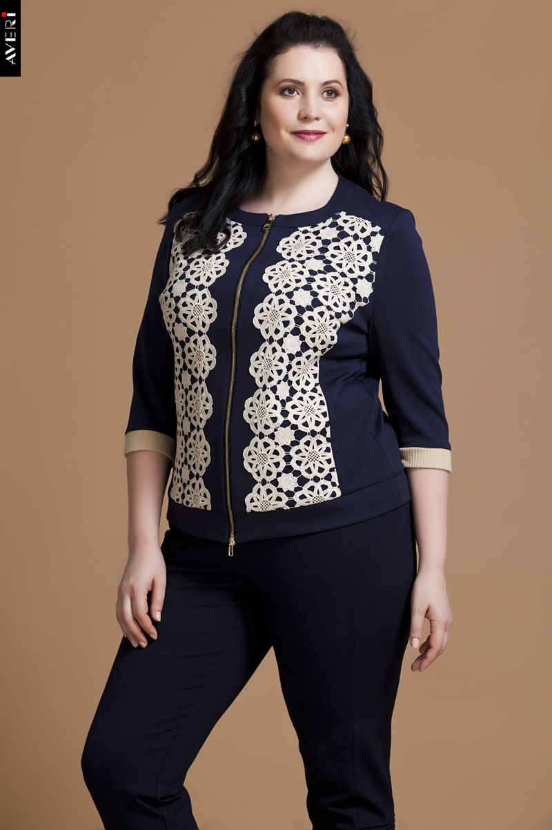 Авери Женская Одежда Больших Размеров