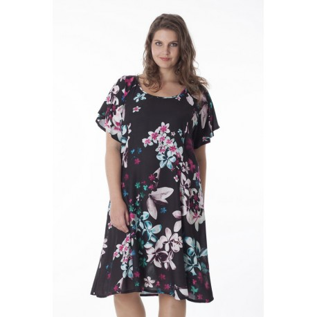 7724 Dinara Женское платье большого размера EXELLE