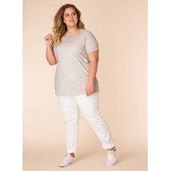 A28689 Женская блуза большого размера Yesta
