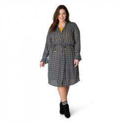 А39371 Женское платье большого размера Yesta