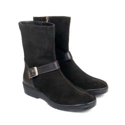 Полусапожки осенние на байке. Богатырь на Селезневке — купить обувь больших размеров марки Делфино