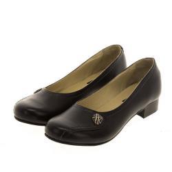 Туфли женские черные. Богатырь на Селезневке — купить обувь больших размеров марки Делфино
