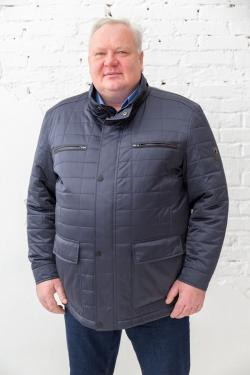 Мужская куртка Galion большого размера, арт 25242 синяя