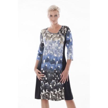 7770 Demir-combi Женское платье большого размера EXELLE