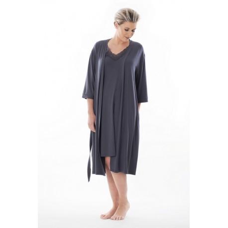 9804 Jacky Платье халат большого размера Alice & Jann