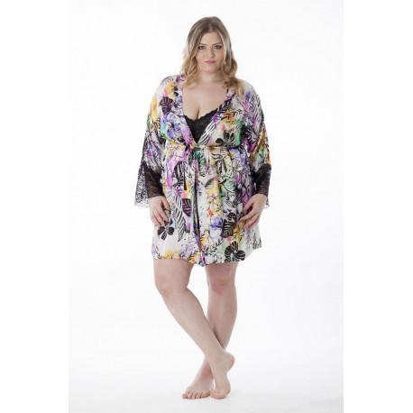 9836 Joana Платье халат большого размера Alice & Jann