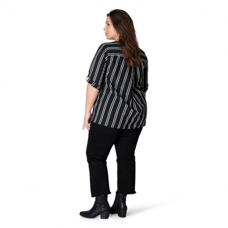 А39347 Женская блуза большого размера Yesta