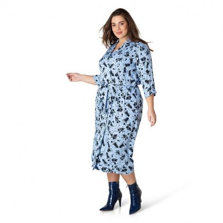 А39416 Женское платье большого размера Yesta