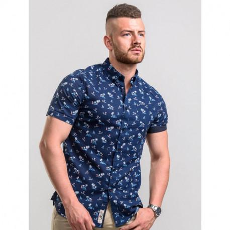 KS10613А Рубашка мужская большого размера DUKE