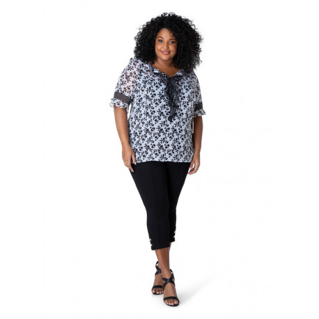 А39513 Женская блуза большого размера Yesta