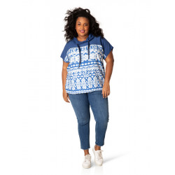 А39536 Женская блуза большого размера Yesta