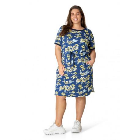 А39565 Женское платье большого размера Yesta