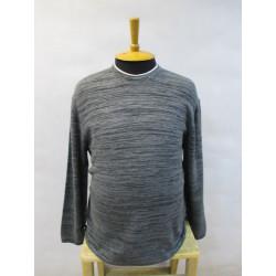 195359 Мужской пуловер большого размера Kitaro