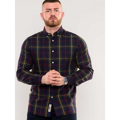 KS110801 Рубашка мужская большого размера DUKE CLOTHING