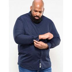 KS110805 Рубашка мужская большого размера DUKE CLOTHING