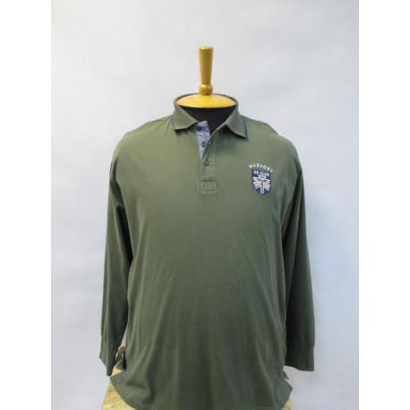 FED.322525 Мужская рубашка-поло большого размера от Maxfort (Италия)