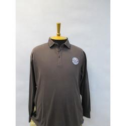 FED.E1747 Мужская рубашка-поло большого размера от Maxfort (Италия)
