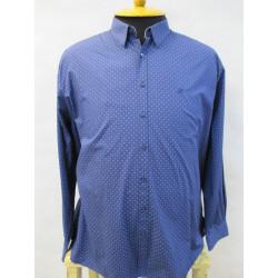 MET.SARONNO Мужская рубашка большого размера от Maxfort (Италия)