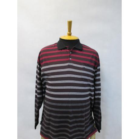 29511 Рубашка-поло мужская большого размера в клетку от Navigazione
