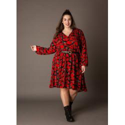 А000077 Женское платье большого размера Yesta