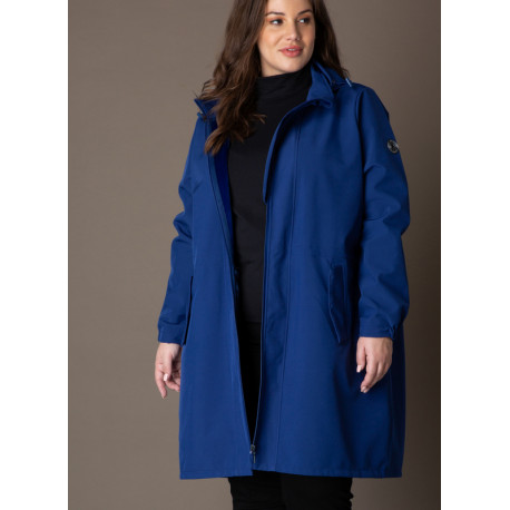 А000185 женская куртка большого размера Yesta