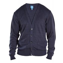 KS80547 Мужской теплый кардиган большого размера от DUKE CLOTHING (Великобритания)